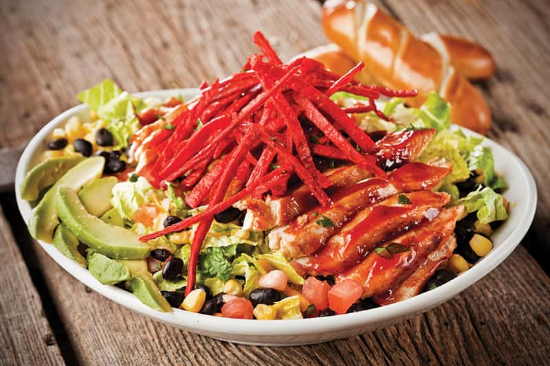 BBQ CHICKEN SANTA FE SALAD