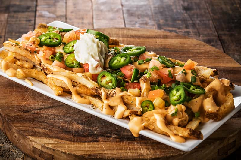 Stadium-Style Loaded Fries
